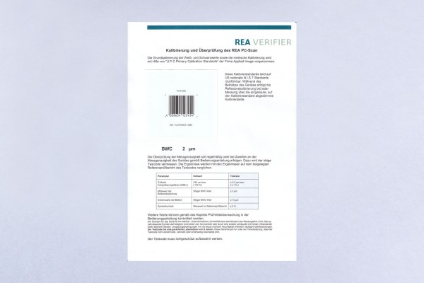 Testcode EAN 13 100 % auf Fotopapier