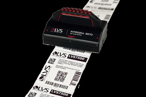 LVS-9570 Roller, 1D & 2D Codes